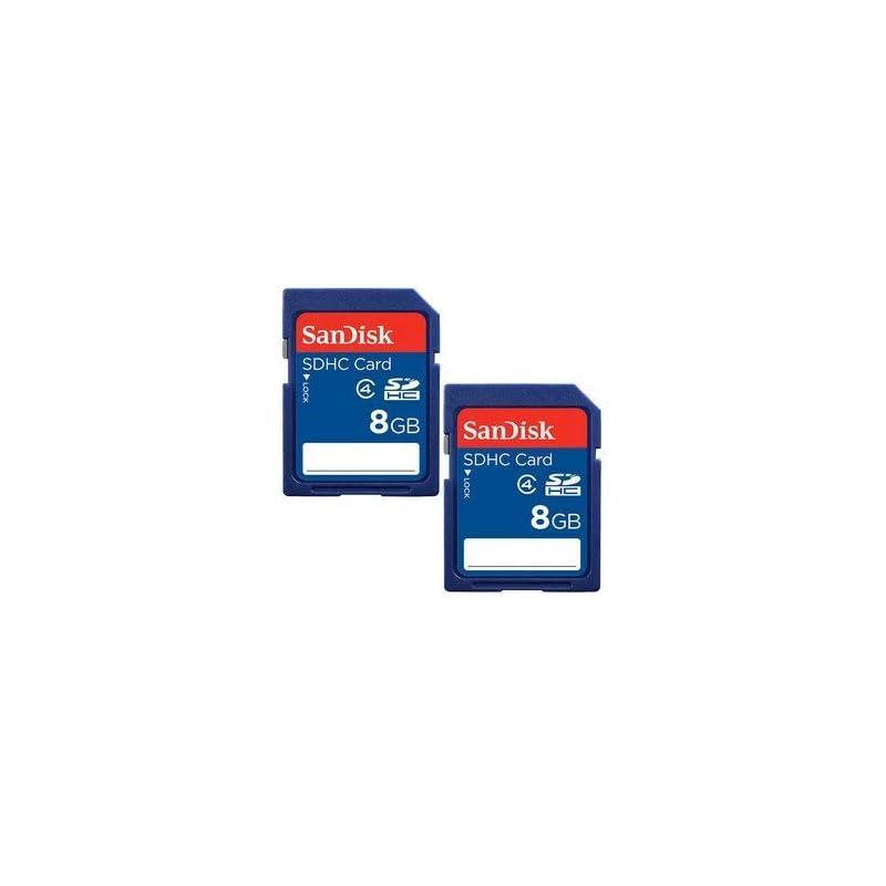 SanDisk 8GB Class 4 SDHC Flash Memory Ca