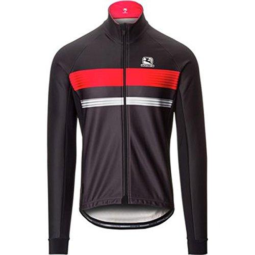 Giordana 2017/18 Men's Fasce Vero Cycling Jacket - GICW16-JCKT-FASC (Black/RED/Grey - XL)