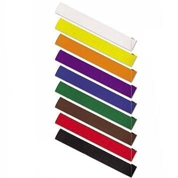 Karate color belts Martial arts grading belts Cotton Judo, Karate, BJJ, Taekwondo  belts