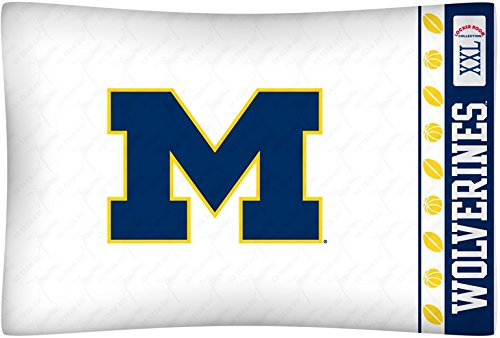 Pillowcase Printed Michigan - University of Michigan Pillowcase