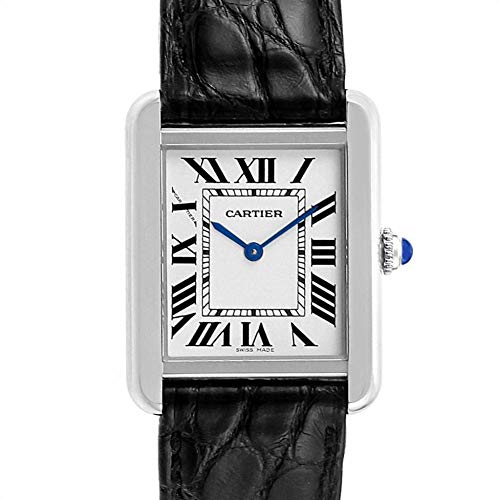 Cartier Tank Solo Quartz Female Watch W1018255 (Certified Pre-Owned)