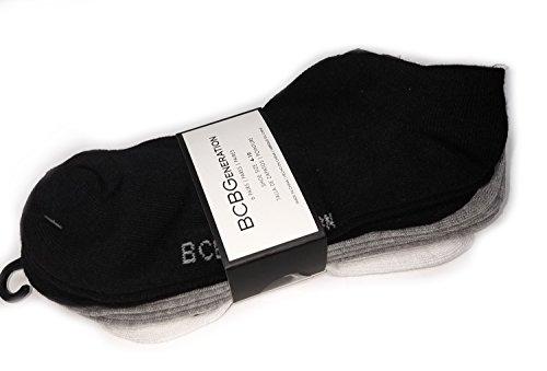 BCBGeneration 6 Pairs Women's Socks - White, Black, Grey (Shoe Size: 4-10)