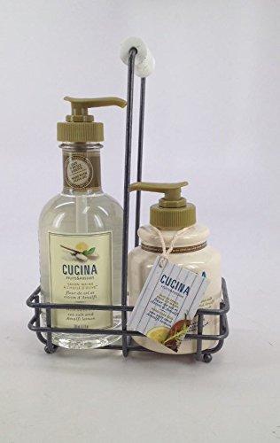 Fruits and Passion's NEW Cucina Regenerating Hand Care Duo Sea Salt and Amalfi Lemon -
