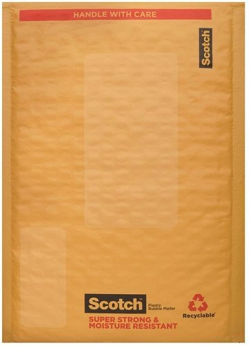 Scotch Smart Mailer, 6 in x 9 in, Size #0, 25-Pack (8913-25)