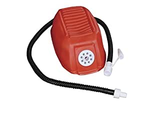 High Peak Fußpumpe 1550 ccm - Bomba manual para acampada, color rojo, talla FR: 16 x 10,5 cm