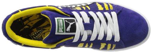Classico In Pelle Scamosciata Puma +, Stivaletti Sneaker Per Adulti Misti Blau - Spettro Blu