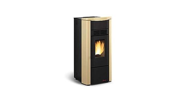 Extraflame Estufa a PELLAS Giusy Plus Revestimiento de acero barnizado Potencia térmica 8 kW 230 m3 calefactables: Amazon.es: Bricolaje y herramientas