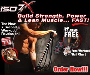 ISO 7X - Deluxe Edition - 7 Second Workout Revolution - As Seen on TV