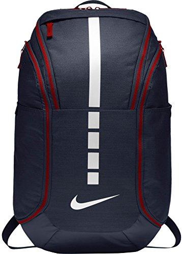 Nike Hoops Elite Hoops Pro Basketball Backpack Obsidian Blue/Red/White ()