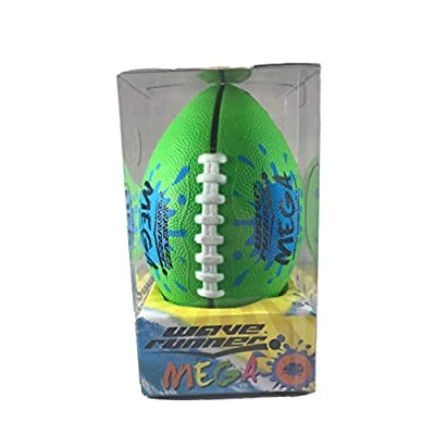 Wave Runner Mini Mega Football Soft Foam, Playground, Backyard, Pool and Beach. Great for Toy, Kids and Games. Water Resistance Bulk Price Available Water Toy (Colors May Vary): Toys & Games