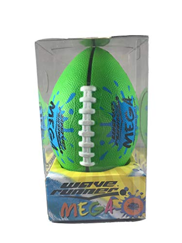 (Wave Runner Mini Mega Football Soft Foam, Playground, Backyard, Pool and Beach. Great for Toy, Kids and Games. Water Resistance Bulk Price Available Water Toy (Colors May Vary))