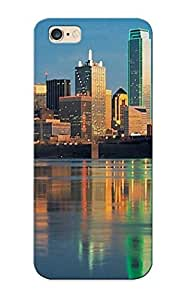 Fashionable Style Case Cover Skin Series For Iphone 6 Plus- Dallas Skyline
