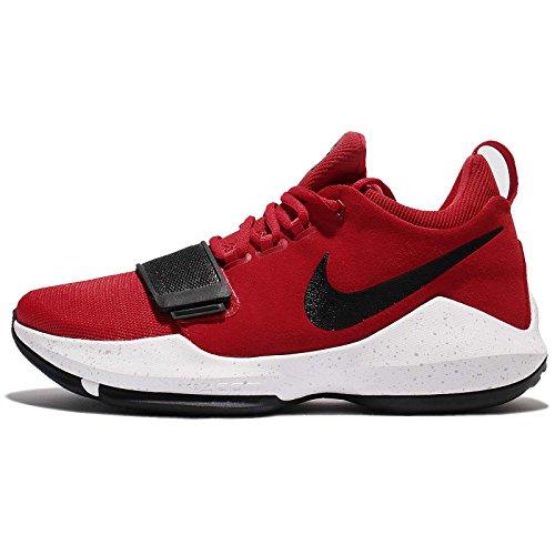 Nike Mens Pg 1 Ep, Université Rouge / Blanc-noir Université Rouge / Blanc-noir