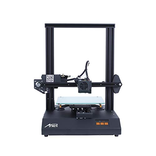3 idea Imagine Create Print Ultra Silent with TMC2208 Stepper Driver, High Precision Resume Printing, Matrix Automatic Levelling, Anet ET4 Pro 3D Printer, 220X220X250mm