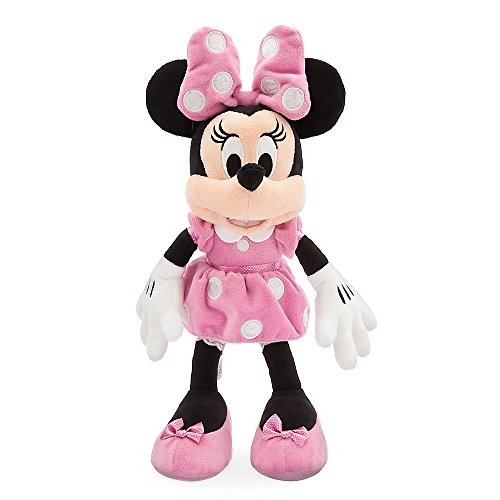 Disney Minnie Mouse Plush - Pink - Small]()