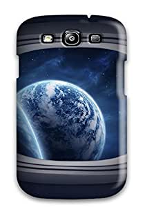 New Style Tpu S3 Protective Case Cover/ Galaxy Case - Space Window