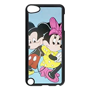Disney Mickey Mouse Minnie Mouse iPod TouchCase Black Exquisite designs Phone Case KM5H6791