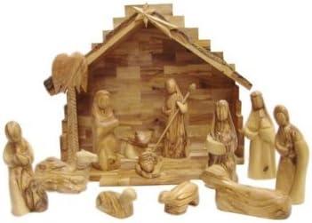 Holy Land Imports Olive Wood Nativity Set