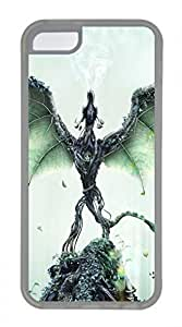 iPhone 5c case, Cute Forest Guardian iPhone 5c Cover, iPhone 5c Cases, Soft Clear iPhone 5c Covers