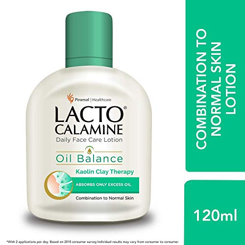 LD Lacto Calamine Face Lotion for Oil Balance Combination to Normal Skin 120 ml