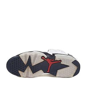 best website e6fbc 8bc59 ... NIKE Mens Air Jordan 6 Retro Olympic White Midnight Navy. upc  886551155280 product image1. upc 886551155280 product image2