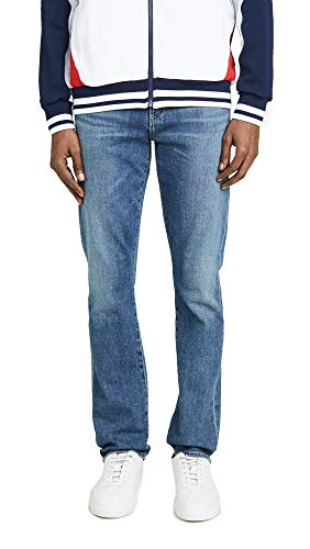 Citizens of Humanity Men's Gage Classic Straight Jeans in Aurora Wash, Aurora, Blue, 36 Citizens Of Humanity Button Fly Jeans