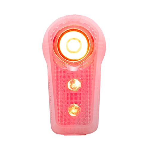 Planet Bike Superflash Turbo Bike Tail Rear Light, Two Modes, Multiple Mounting Options, Works with Joggers and Scooters, Battery Operated with 100 Hour Run Time