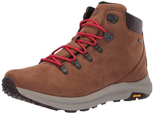 Merrell Men's Ontario MID Waterproof Hiking Shoe, Dark Earth, 10.0 M US (Best Mid Priced Running Shoes)