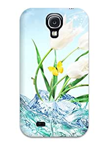 TawXSij7114NoneN Flower Fashion Tpu S4 Case Cover For Galaxy