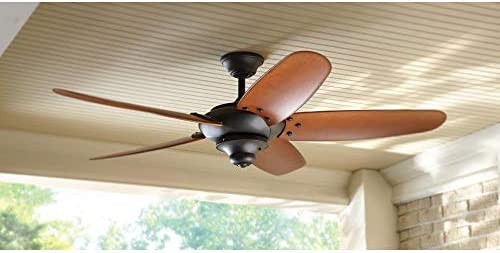 Home Decorators Altura 60 Outdoor Oil Rubbed Bronze Ceiling Fan Amazon Com