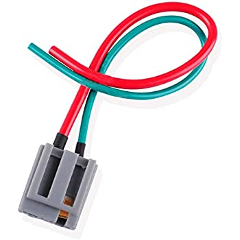 Amazon.com: HEI Distributor Connector Wire Harness Pigtail 12v ... on chevy wiring harness, radio wiring harness, gm wiring harness, alternator wiring harness, hid wiring harness,