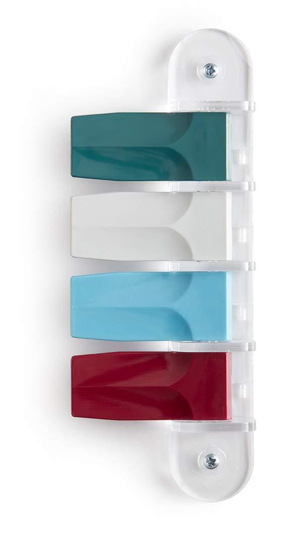 "Exam Room Signals - Kull Industries - Medical Door Flags for Hospitals, Doctors Offices, Clinics (Designer Colors, 4 Flag System, 3"")"