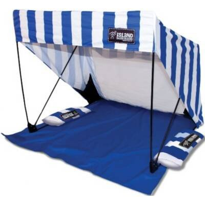 SwimWays 80090 Kelsyus Island Shade Shack Stripe, Outdoor Stuffs