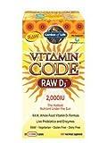 Garden of Life Vitamin Code Raw D3 2,000 IU, 240 Capsules