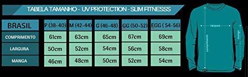Kit com 04 Camisetas Proteção UV Masculina UV50+ Secagem Rápida Cores
