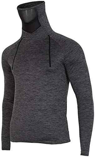 Cordon T Col Pour Serrage shirt De Homme Bimd001g 4f Avec Longues Gris À Manches Roulé Et Rv0Bqwx