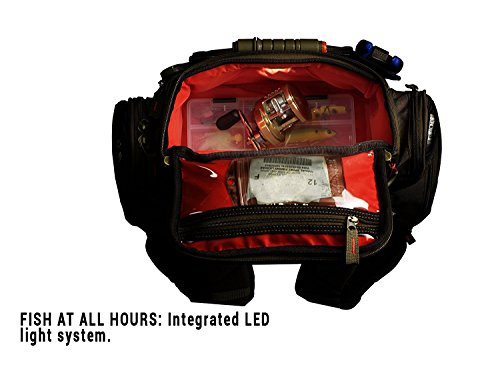 Wild River Recon Lighted Backpack. Custom Leathercraft Wild River by CLC WT3604 Tackle Tek Nomad Lighted Backpack with Four PT3600 Trays