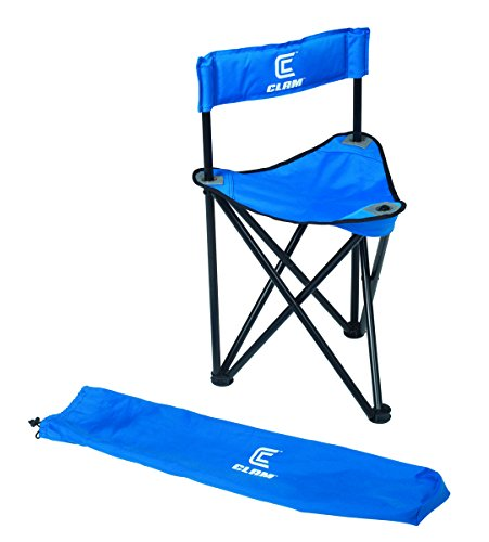 Clam Folding Tripod Chair (Seats Ice Fishing)