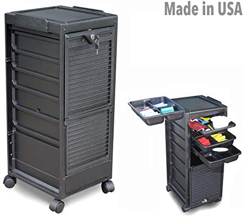 G3-KD Salon SPA Rollabout Trolley Cart Lockable Made in USA by Dina Meri