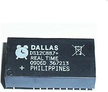IC RTC W//RAM 128 BYTE 24-EDIP DS12C887 /'/'UK COMPANY SINCE1983 NIKKO/'/' DS12C887
