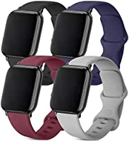 ATUP Sport Band Compatible with for Apple Watch Band 44mm 40mm 42mm 38mm, Soft Silicone Strap Replacement Bands for...