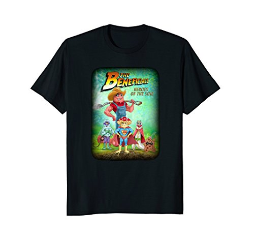 Beneficial Soil - The Beneficials - Heroes of the Soil T-shirt