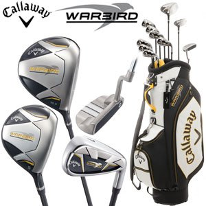 Callaway Warbird Men's Complete Club Set with Cart Bag ... Callaway Golf Club Set