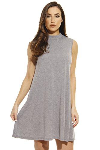 401504-GHY-L Just Love Summer Dresses / Short Dress