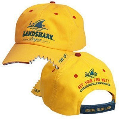 [Landshark Lager Hat Style 2-Yellow