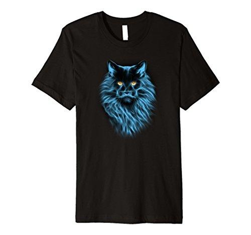 Moonlight Maine Coon Cat Tee Shirt - Maine Coon Shirt