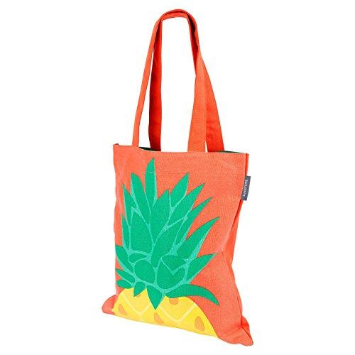 plage de Tote Orange orange bag Ananas Rnfn6AwCEq