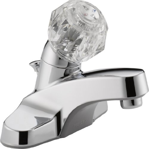 Peerless P135LF Classic Single Handle Lavatory Faucet, Chrome (Peerless Single Handle Faucet compare prices)