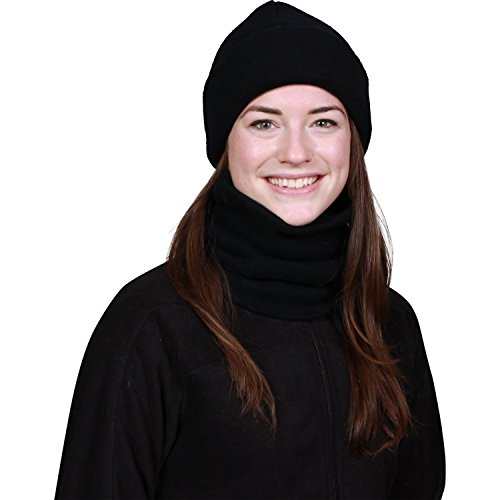 Turtle Fur - The Turtle's Neck Heavyweight Neck Warmer, Black, One Size