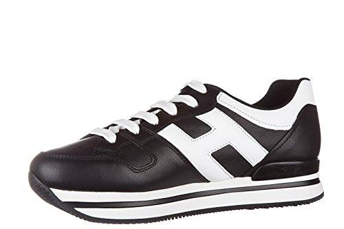 Hogan Damenschuhe Turnschuhe Damen Leder Schuhe Sneakers h222 sportivo xl h gran